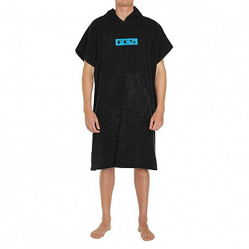 FCS Poncho Changing Towel - Black
