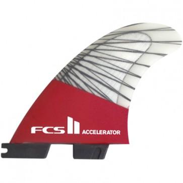 FCS II Fins Accelerator PC Carbon Medium Tri Fin Set