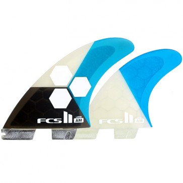 FCS II Fins AM PC Large Tri-Quad Fin Set