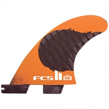 FCS II Fins GM PCC Large Tri Fin Set - Orange