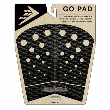 Firewire Rob Machado Go Pad Traction - Black/Charcoal