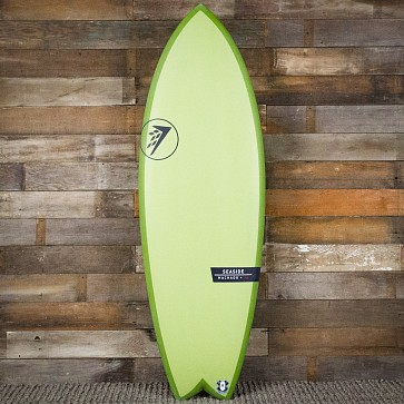 Firewire Seaside Helium 5'7 x 21 5/8 x 2 1/2 Surfboard - Avocado - Deck