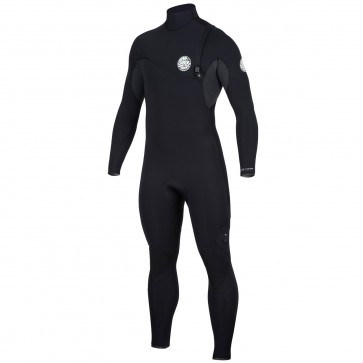Rip Curl Flash Bomb 3/2 Zip Free Wetsuit - Black