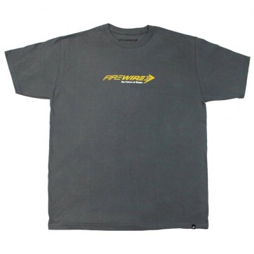 Firewire Surfboards Future of Shape T-Shirt - Charcoal