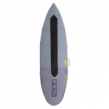 FCS Day Fun Board Cover Surfboard Bag - Cool Grey