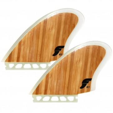 Futures Fins K1 Keel Twin - Bamboo