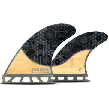 Futures Fins Rasta Honeycomb Quad Fin Set