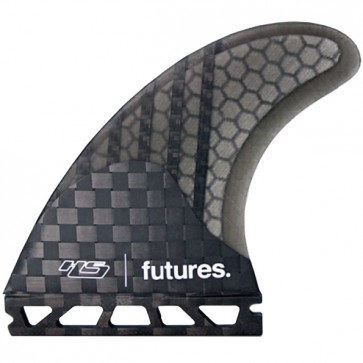 Futures Fins HS3 Generation - Carbon/White