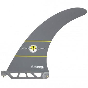 Futures Fins - 8'' Robert August Flex Fin - Grey