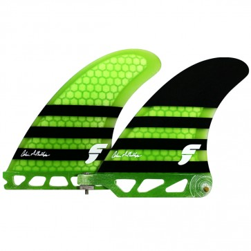 Futures Fins Colin McPhillips 2 + 1 SUP Fin - Neon Green/Black