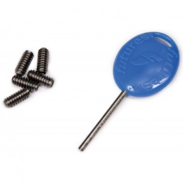 Futures Fins Fin Screw and Key - Blue