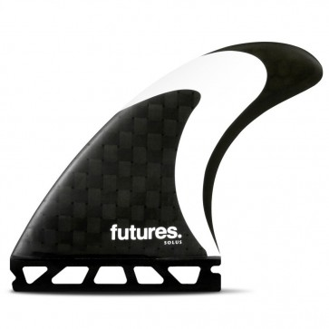 Futures Solus HC Tri Fin Set - Carbon/Black/White