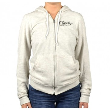 Cleanline Women's Eagle Zip Hoodie - Oatmeal