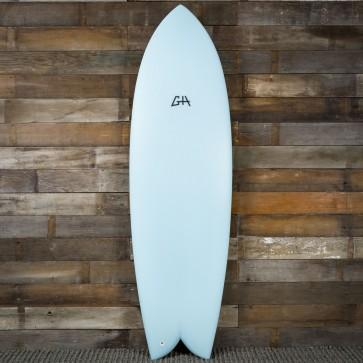 Gary Hanel C-Fish 6'2 x 21 3/4 x 2 3/4 Surfboard - Powder Blue