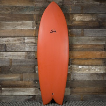 Gary Hanel C-Fish 5'8 x 21 x 2 1/2 Surfboard - Burnt Orange