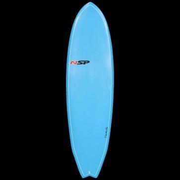 Global Surf Industries - 6'4 NSP Elements Fish Surfboard - Blue