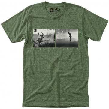 HippyTree Huntsman T-Shirt - Heather Army