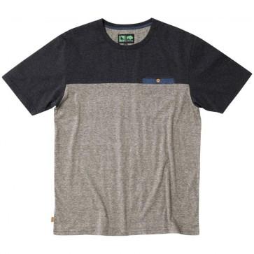 HippyTree Chico T-Shirt - Heather Black