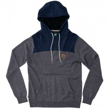 HippyTree Huntsville Hooded Sweater - Charcoal
