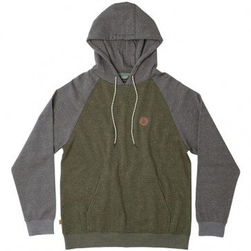 HippyTree Boulder Hoodie - Heather Army