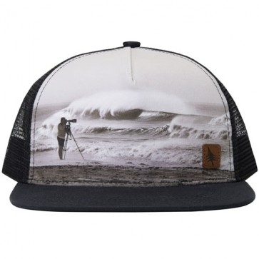 HippyTree Rangefinder Trucker Hat - Black