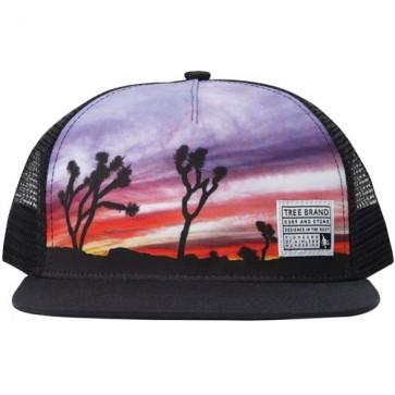 HippyTree Palmdale Trucker Hat - Black