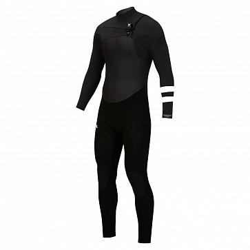 Hurley Advantage Plus 4/3 Chest Zip Wetsuit - Black