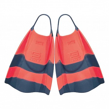 Hydro Tech 2 Swim Fins - Tang/Navy