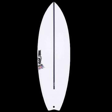 JS Psycho Nitro HYFI Swallow Tail Surfboard - Deck