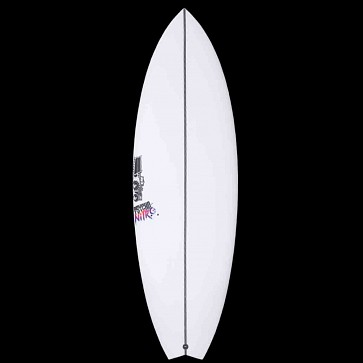 JS Psycho Nitro Swallow Tail Surfboard - Deck