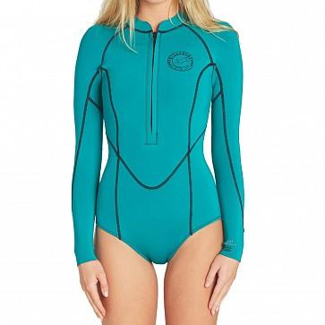 Billabong Women's Salty Dayz 2mm Long Sleeve Spring Wetsuit - Palm Green