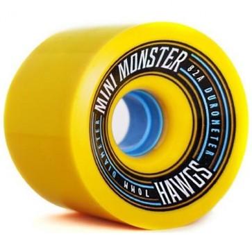 Landyachtz 70mm Mini Monster Hawgs Wheels - Yellow