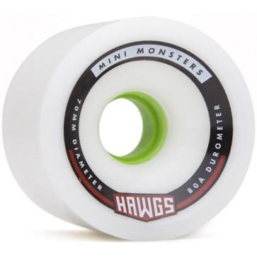 Landyachtz 70mm Mini Monster Hawgs Wheels - White