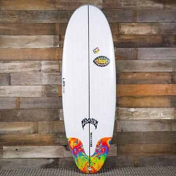 Lost Freak Flag Bean Bag 5'6 x 21.5 x 2.5 Surfboard - Deck