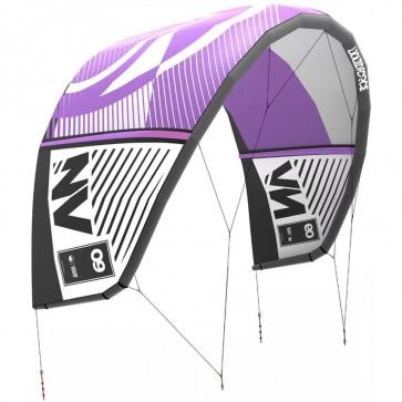 Liquid Force NV V8 Kite - Navy Blue/Rendering Purple