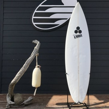 Channel Islands M4 6'0 x 18 3/8 x 2 3/8 Used Surfboard - Top