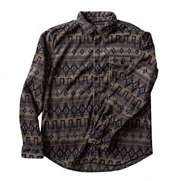 Billabong Long Sleeve Flannel Shirt - Raven