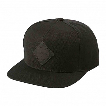 RVCA Camps Snapback Hat - Black
