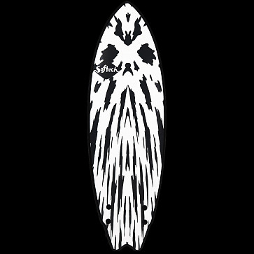 Softech Mason Twin 5'10 Soft Surfboard - Gunmetal Black - Deck