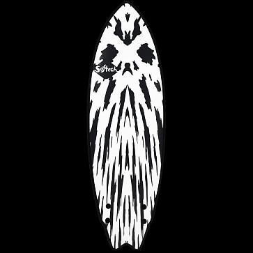 Softech Mason Twin 5'6 Soft Surfboard - Gunmetal Black - Deck