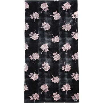 RVCA Oblow Rose Towel - Pirate Black