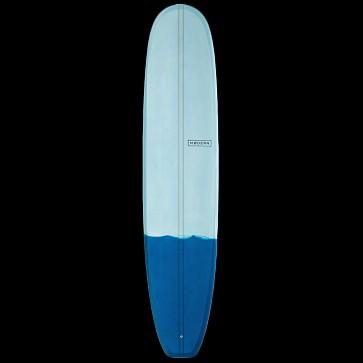 Modern Retro Surfboard - Blue - Deck