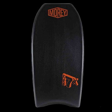 Morey Mach 7X 41.5'' Bodyboard - Black/Black/Orange - Deck