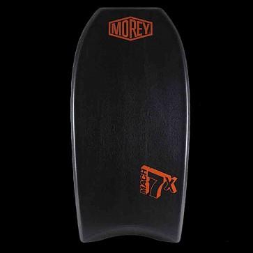 Morey Mach 7X 42.5'' Bodyboard - Black/Black/Orange - Deck