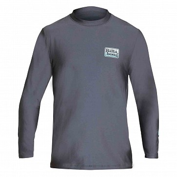 Billabong Keyline Loose Fit Long SLeeve Rashguard - Charcoal Heather