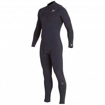 Billabong Furnace Comp 3/2 Chest Zip Wetsuit - Black