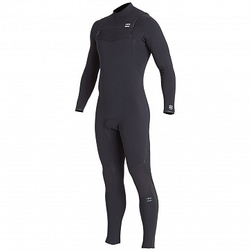 Billabong Furnace Comp 4/3 Chest Zip Wetsuit - Black