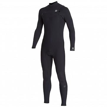 Billabong Furnace Revolution Pro 4/3 Chest Zip Wetsuit - Black