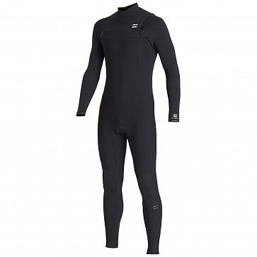 Billabong Furnace Revolution Pro 3/2 Chest Zip Wetsuit - Black