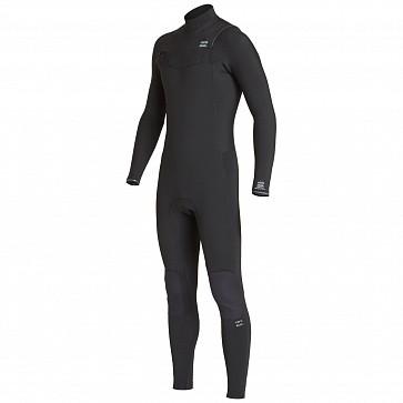 Billabong Furnace Revolution 3/2 Chest Zip Wetsuit - Black